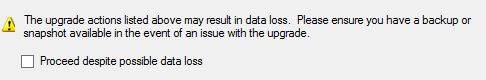 SSDT Import DacPac Data Loss Warning