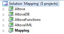 MapForce Generated Visual Studio Solution
