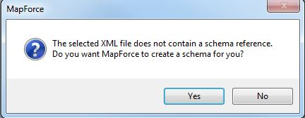 Mapforce Create Schema