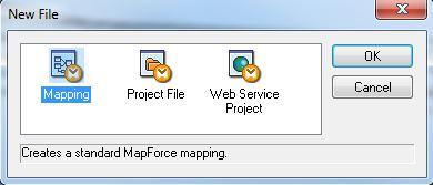 Mapforce New Mapping