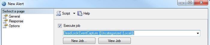 SQL Alert Dead Lock Event Capture