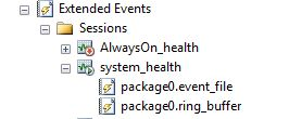 System Health Event File And Ring Buffer
