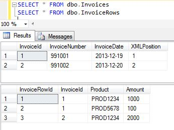 Invoices Database
