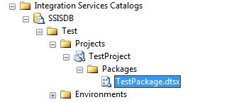 Test Package In SSISDB Catalog