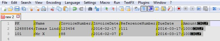 Aligned columns in Notepad++